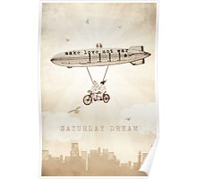 Saturday Dream - Love and Peace Flight Poster