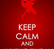 Keep Calm - Sailor Mars Poster 2 by SimplySM