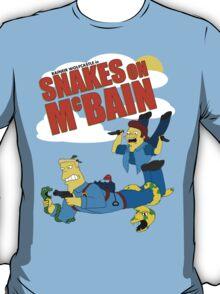Snakes on McBAIN T-Shirt