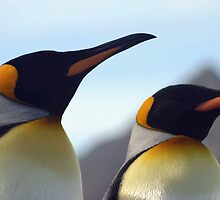 King Penguins by rosepetal2012