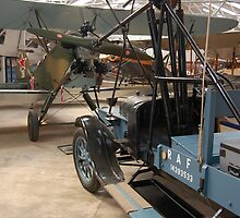 Polikarpov Po-2 and Hucks starter, Shuttleworth Collection by Ross Sharp