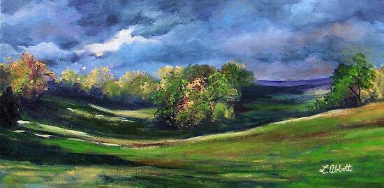 """""""Shining Light,"""" by Lynn  Abbott"""