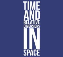 Time and Relative Dimensions in Space by Jake Driscoll
