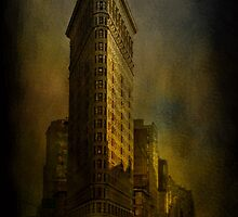 Flat Iron Building from My Perspective by Jeff Burgess