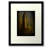 Flat Iron Building from My Perspective Framed Print