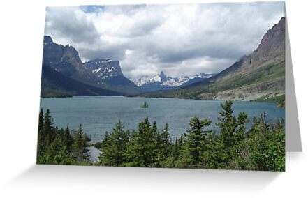 WILD GOOSE ISLAND - SWIFT CURRENT LAKE  by May Lattanzio