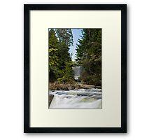 The other Mclaren Falls Framed Print