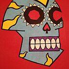 Día de los Muertos - Day of the Dead skull  by Metatherion