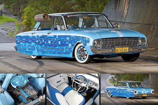 Greg Pennell's XL Falcon Sedan - Poster by HoskingInd