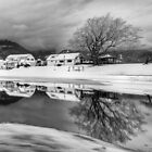 Percy Farm in Black and White by Annie Lemay  Photography