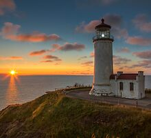 North Head Lighthouse by Jim Stiles