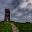 Near the top of Glastonbury Tor by NeilAlderney