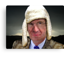 Wulff in sheep's clothing Canvas Print
