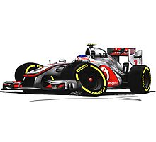 F1 2012 - McLaren MP4-27 - Jenson Button Photographic Print