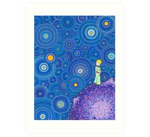 The Cosmic Little Prince Art Print