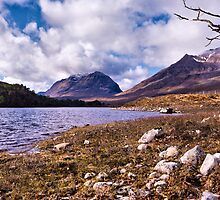 Liathach from Loch Clair, Torridon, Scotland by jacqi