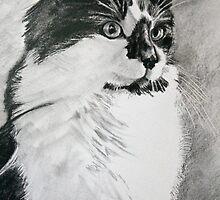 """""""Skunk"""" portrait by skippatuffson"""