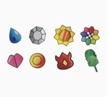 Pokemon Badges (Kanto Only) Kids Clothes