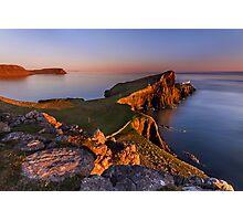Neist Point. Isle of Skye. Scotland. Photographic Print