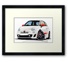 Fiat New 500 Abarth Framed Print