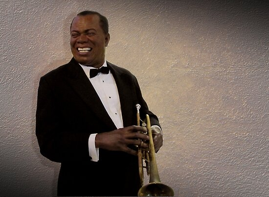 Louis Armstrong by David Dehner
