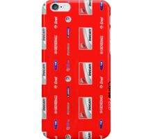 Ducati interview banner iPhone Case/Skin