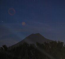 Volcan de Agua Antigua Guatemala by Marie Anne Hale