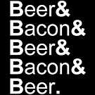 Beer&amp;Bacon&amp;Beer&amp;Bacon... by Herbert Shin