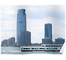 Circle Line Ferry on the Hudson Poster
