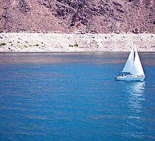 Sailing on Lake Mead by photecstasy