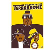 Public Enemy - Welcome To The Terrordome Photographic Print