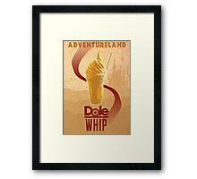 Dole Whip Framed Print