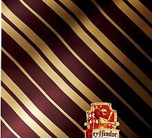Harry Potter Gryffindor Colors/Logo by Em Herrera