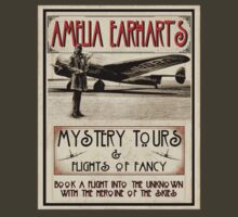Amelia Earhart by blackiguana