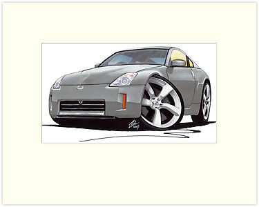 Nissan 350Z (Facelift) Gun Metal by Richard Yeomans