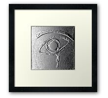 Separation in Bas Relief Framed Print