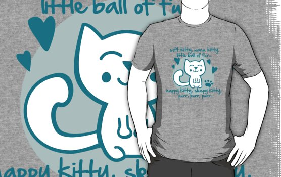 soft kitty, warm kitty, little ball of fur... by Cheesybee