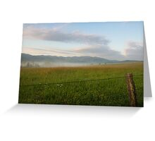 Fenced In, Cades Cove, Smoky Mountains National Park Greeting Card