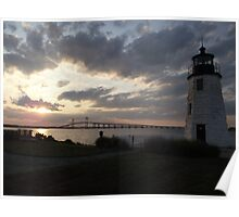 Goat Island Lighthouse Poster