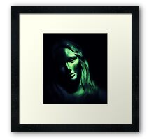 Thoughts In Shadows Framed Print