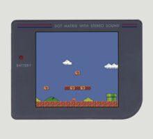 Mario on Gameboy by FlyNebula
