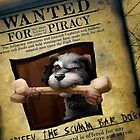 Monkey Island - WANTED! Spiffy, the Scumm Bar dog by Rastaman