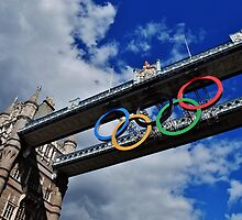 Olympic Rings by Stephen Burke