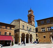 PIENZA - TOSCANA - ITALY by RAN Yaari