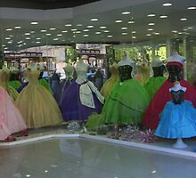 Wedding Dresses, Queretaro, Mexico by Carol Singer
