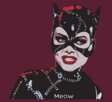 Michelle Pfeiffer as Catwoman by Yaz Alcantara