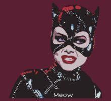 Michelle Pfeiffer as Catwoman by Yaz Alcantara