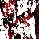 American Psycho, Patrick Bateman 'Collage' effect by smirkingjim