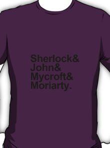 The Beatles Sherlock Style T-Shirt