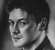 James McAvoy by robdolbs